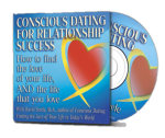 Free Conscious Dating Audio CD with book purchase