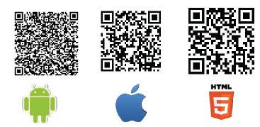 Conscious Dating app QR codes